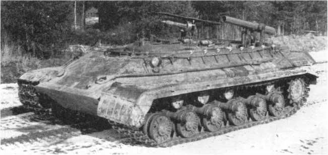 86.Опытный образец ракетного танка «объект 282». 1959 год (АСКМ).