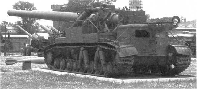 93.Самоходная установка «Ока» с 420-мм минометом на площадке Военно-исторического музея артиллерии, инженерных войск и войск связи (АСКМ).