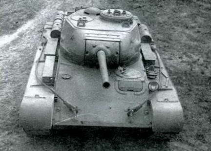 Танк Т-44А на государственных испытаниях. Сентябрь 1944 г.