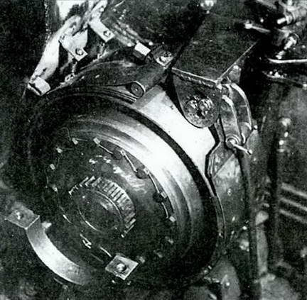 Тормоз танка Т-44а