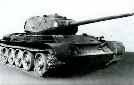 Серийный танк Т-44Б. 1945 г.
