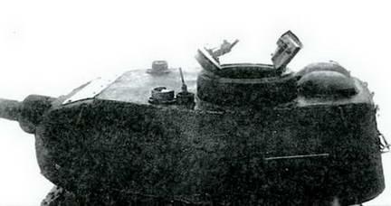 Старый тип башни Т-34-85. 1944 г.