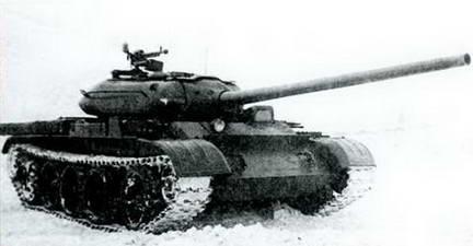 Эталонный танк Т-54 («Объект 137»).