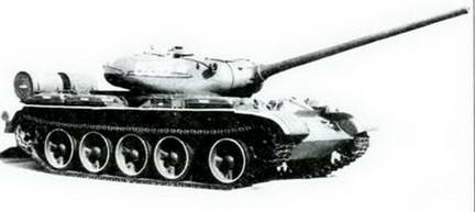 Серийный Т-54 выпуска 1947-1948 гг.