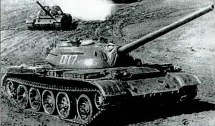 Танки Т-54 с улучшенной башней выпуска