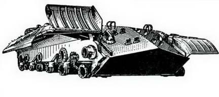 Бронекорпус танка ИС-ЗМ. После 1948 г.