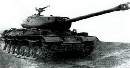 Один из первых серийных танков ИС-4. 1947 г.