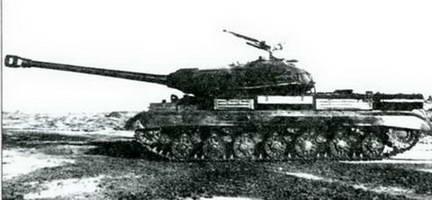 Танк ИС-4М сбоку. Осень 1949 г.