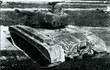 Танк М-26 сзади сверху. 1945 г.