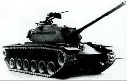 Американский средний танк М-48 «Генерал Паттон-III». 1953 г.