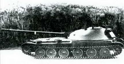 СУ-100 («Объект 416») во время Государственных испытаний. 1951 г.