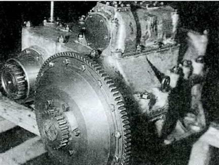 Пятиступенчатая КПП танка Т-54. 1947 г.