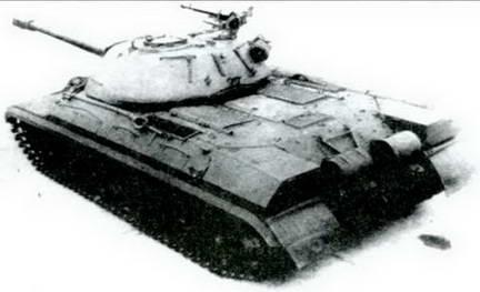 Тяжелый танк Т-10, вид сзади.