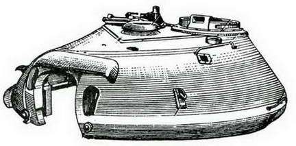Башня танка Т-10. 1951 г.