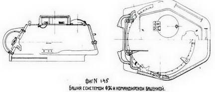 Башня Т-34 с командирской башенкой Ревзина завода № 112. Осень 1943 г.