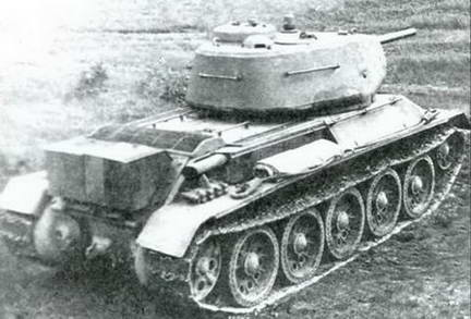 Испытания эталонного Т-43 (T-43-II). Август 1943 г.