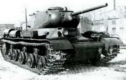 Опытный образец танка ИС-1 («Объект 233»). Весна 1943 г.