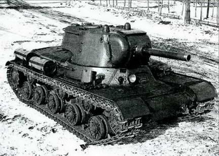 Опытный образец танка ИС-2 («Объект 234»). Весна 1943 г.