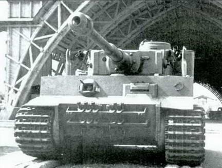 «Тигр» № 100 в Парке культуры им. Горького. 1943 г.
