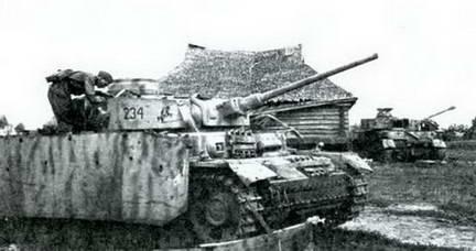 Захваченный немецкий танк PzKpfw III Ausf L Лето 1943 г.