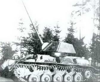 Испытания 45-мм пушки ВТ-43 в танке Т-80, август 1943 г.