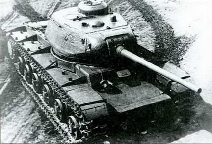 Танк КВ-85 («Объект 239») с 85-мм пушкой Д-5Т. Лето 1943 г.