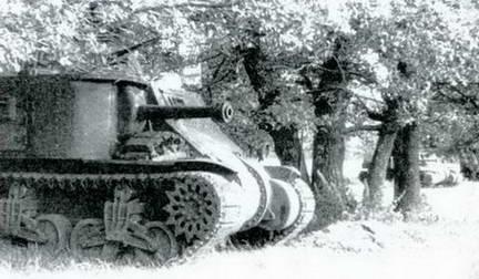 Американский танк М-3С «Генерал Ли» под Курском. Лето 1943 г.