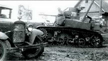 Легкий танк М 3 «Генерал Стюарт»в Красной Армии. Румыния 1944 г.