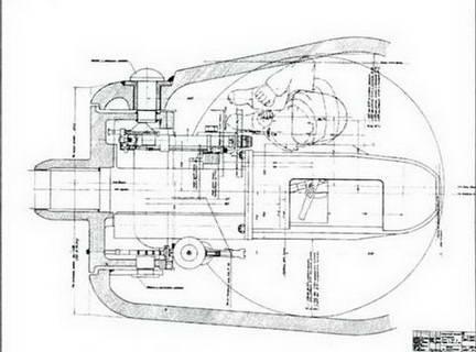 Установка 85-мм орудия С-50 в башне