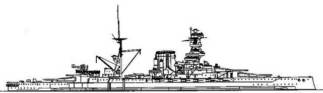 Средиземное море. 1940 г.