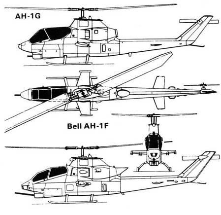 БЕЛЛ 209 «ХЬЮ КОБРА» АН -1S