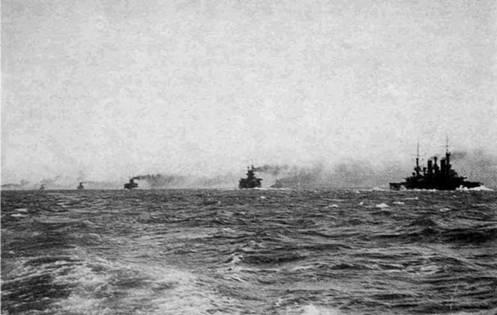 Первая тихоокеанская эскадра в походе
