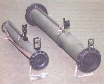 РПГ-26 (слева) и РПГ-27 (справа).