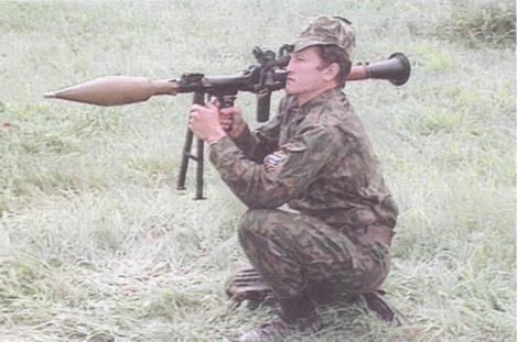 Новые выстрелы к ручному противотанковому гранатомету РПГ-7В1