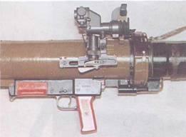 Прицел и спусковой механизм РПГ-29.