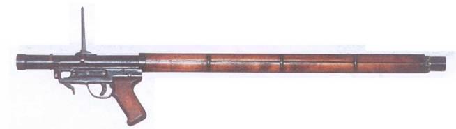 Ручной противотанковый гранатомет РПГ-1 (опытный)