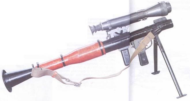Гранатомет РПГ-7 с прицелом НСПУ-М.
