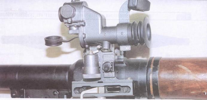 Общий вид прицела ПГО-7В.