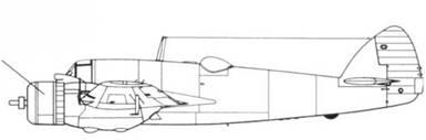 Beaufighter Mk I звездообразный мотор воздушного охлаждения Бристоль «Геркулес» III мощностью 1425 л.с.