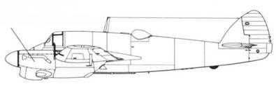 Beaufighter Mk II рядный мотор жидкостного охлаждения Роллс-Ройс «Мерлин» XX мощностью 1250 л.с..
