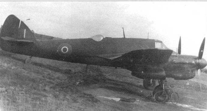 Введение окраски RDM2 (Night Black) позволило RAF резко усилить режим секретности – красные бортовые коды эскадрилий и самолетов были практически не видны на ее фоне, что наглядно .можно продемонстрировать на примере этого «Бьюфайтера» MLIIF.