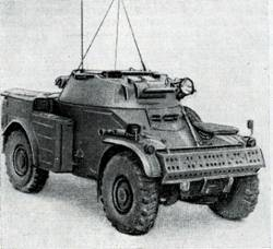Рис. 100. Бронеавтомобиль «Панар» AM1245
