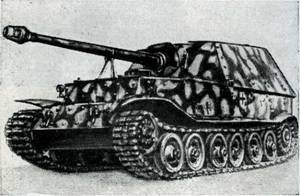 Рис. 107. Истребитель танков «Элефант»
