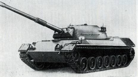 Рис. 109. Средний танк «Леопард» (вариант с башней без дальномера)