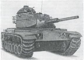 Рис. 11. Основной боевой танк М60А1