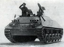 Рис. 113. Бронетранспортер HS-30 с пусковой установкой ПТУРС SS-11