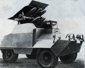 Рис. 114. Бронеавтомобиль «Унимог» с ПТУРС SS-11