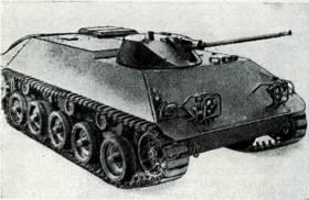 Рис. 115. Бронетранспортер для перевозки пехоты HS-30 (SPW) («длинный»)