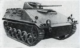 Рис. 117. Разведывательный бронетранспортер SPIA («короткий»)