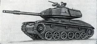 Рис. 121. Легкий танк «Стридсвагн 74»